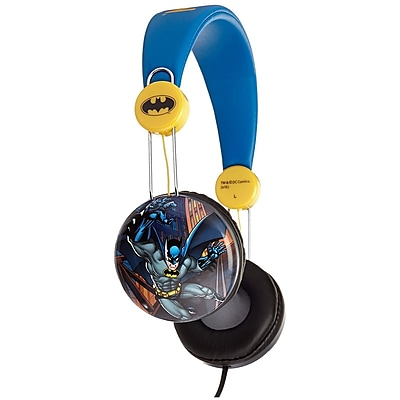 Dc Comics Batman Kids Over The Ear Headphones (935100694M)