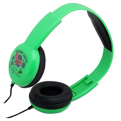 Nickelodeon Teenage Mutant Ninja Turtles Adjustable Kid Safe Headphones (935100681M)