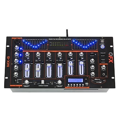 Quantum Fx Quantum FX Professional 4 Channel Mixer (MX-6)