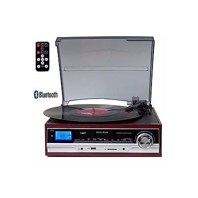 Techplay TechPlay 3-Speed Bluetooth Turntable (935100283M)