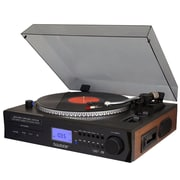 Boytone Fully Automatic Large size Turntable, Bluetooth Wireless, built in 2 Stereo speaker S-Shaped Tone Arm (935101326M)