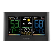 La Crosse Technology Wireless Forecast Station with Colored LCD Display (C85845)