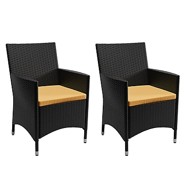 CorLiving 2 Piece Patio Chair Set (PCD-401-C)