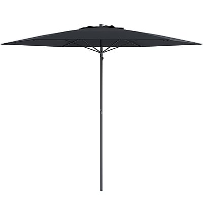 CorLiving Beach/Patio Umbrella, Black (PPU-600-U)