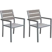 CorLiving Outdoor Dining Chairs, Set of 2 (PJR-571-C)