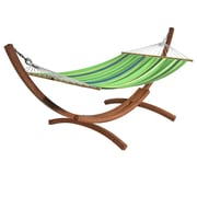 CorLiving Free Standing Hammock, Blue/Green/Yellow Stripes (PWC 354 H) by