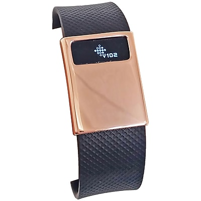 Funktional Wearables Basic Cover for Fitbit Charge/Charge HR, Rose Gold (BASICCOVER-ROSE)