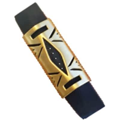 Funktional Wearables Hayden Cover for Fitbit Flex 2, Brushed Gold (HAYDENCOVER-BRGLD)