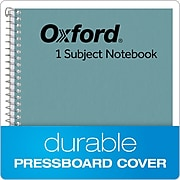 """Oxford 1-Subject Notebook, 6"""" x 9.5"""", College Ruled, 80 Sheets, Blue (TOP 65121)"""