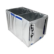 PACKiT Silver Compressed Board/Aluminum Staging Tote, Extra Large (PKF-ST-001)
