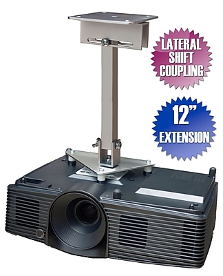 PCMD Projector Ceiling Mount for Epson PowerLite 1775W 1776W 1780W 1781W 1785W, 12