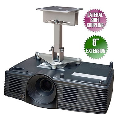 PCMD Projector Ceiling Mount for Optoma TW610STi TW615-3D TW762 TX330 TX536, 8