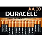 Duracell Coppertop AA Alkaline Batteries, 20/Pack (MN1500B20Z)