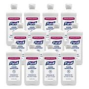 PURELL Advanced Instant Hand Sanitizer, 16 oz Pump Bottle, 12/Pack (9636-12-P)