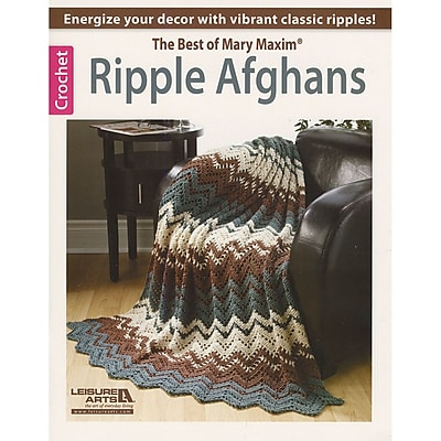 Leisure Arts Ripple Afghans-The Best Of Mary Maxim (LA-6186)