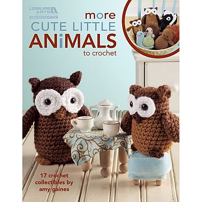 Leisure Arts More Cute Little Animals To Crochet (LA-5125)