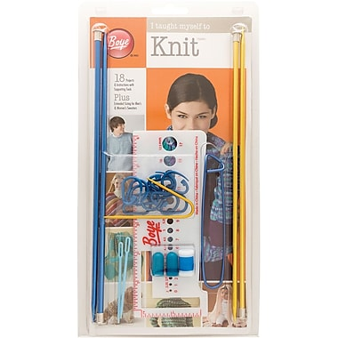 Boye I Taught Myself To Knit Kit (361640)