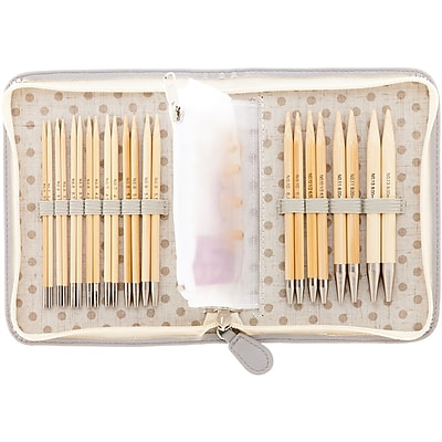 Tulip Needle Company Carry C Interchangeable Bamboo Knitting Needle Long Set (TP1264)