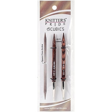 Knitter's Pride Size 11/8mm Cubics Interchangeable Needles (KP300408)