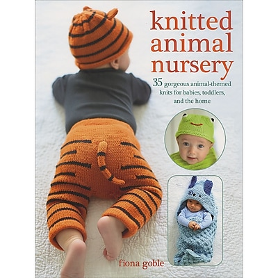 Ryland Peters & Small Knitted Animal Nursery Cico Books (CIC-94331)