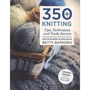 Macmillan Publishers 350+ Knitting Tips, St. Martin's Books (SM-25125)