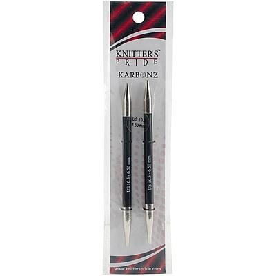 Knitter's Pride Size 10.5/6.5mm Karbonz Interchangeable Needles (KP110310)