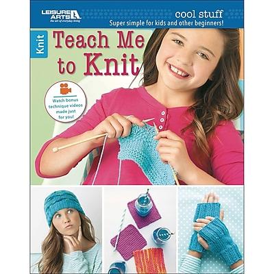 Leisure Arts Cool Stuff Teach Me To Knit (LA-6648)