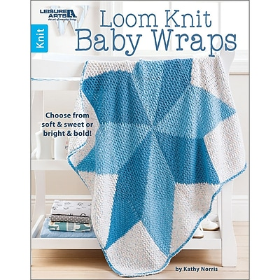 Leisure Arts Loom Knit Baby Wraps (LA-6667)