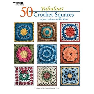 Leisure Arts 50 Fabulous Crochet Squares (LA-4420)