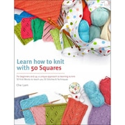 Macmillan Publishers Learn How To Knit With 50 Squares, St. Martin's Books (SM-69955)