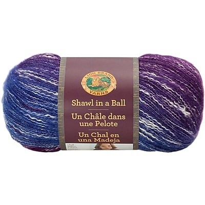 Lion Brand Restful Rainbow Shawl In A Ball Yarn (828-201)