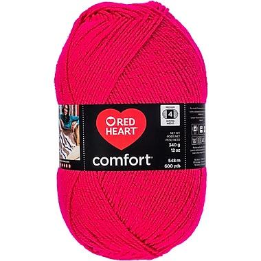 Coats Yarn Cerise Shimmer Red Heart Comfort Yarn (E707D-5004)