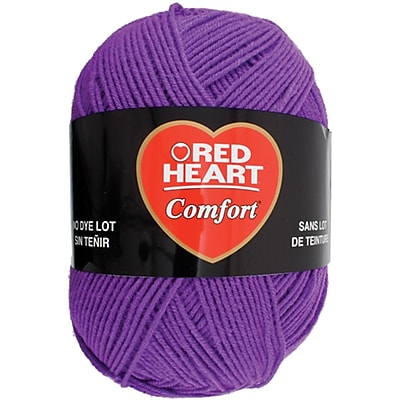 Coats Yarn Red Heart Comfort Yarn, Amethyst (E707D-3196)