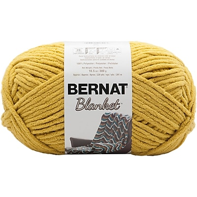 Spinrite Coastal Collection Bernat Blanket Big Ball Yarn, Moss (161110C-10803)