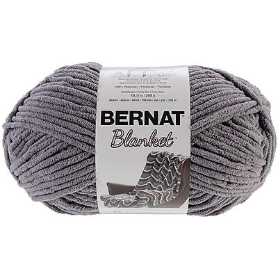 Spinrite Dark Grey Bernat Blanket Big Ball Yarn (161110-10044)