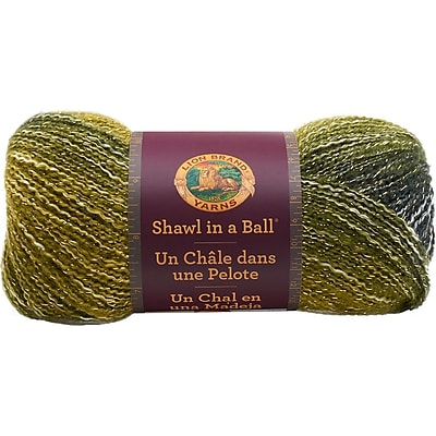 Lion Brand Graceful Green Shawl In A Ball Yarn (828-306)