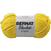 Spinrite Bernat Blanket Brights Big Ball Yarn, School Bus Yellow (161212-12003)