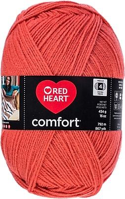 Coats Yarn Coral Red Heart Comfort Yarn (E707D-3242)