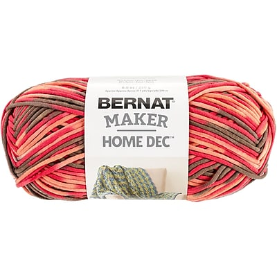 Spinrite Variegated Bernat Maker Home Dec Yarn, Spice (161211-11021)