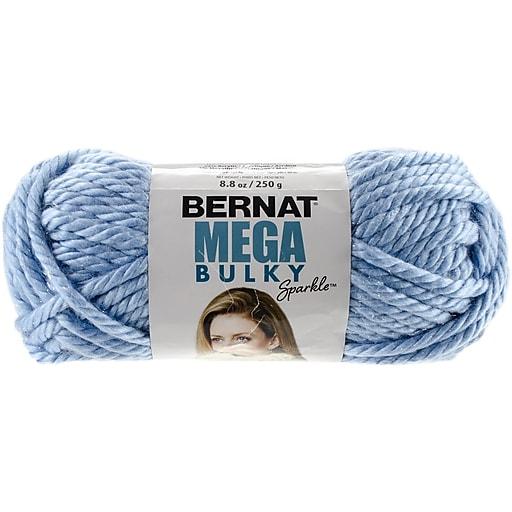 Spinrite Glacier Blue Sparkle Mega Bulky Sparkle Yarn 161201 1128
