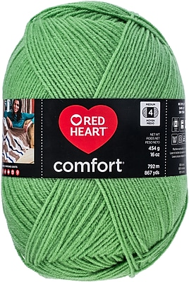 Coats Yarn Green Pea Red Heart Comfort Yarn (E707D-3244)