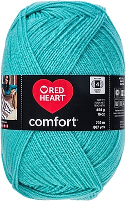 Coats Yarn Sea Glass Red Heart Comfort Yarn (E707D-3245)