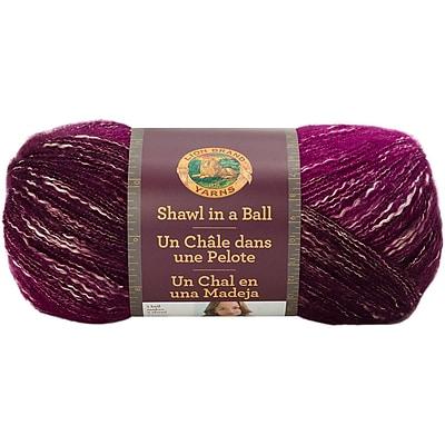 Lion Brand Community Coral Shawl In A Ball Yarn (828-200)