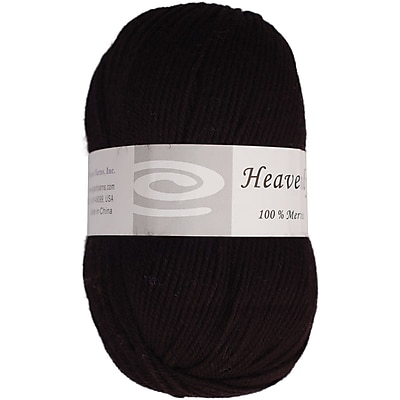 Elegant Yarns Charcoal Black Heavenly Yarn (Q52-100-F620)