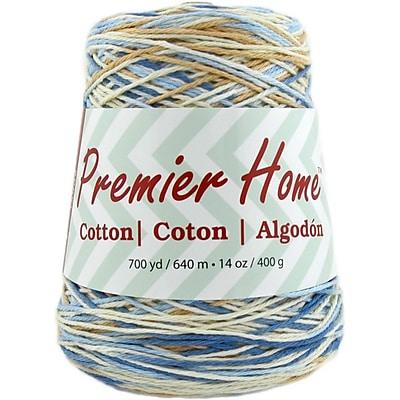 Premier Yarns Rustic Blue Home Cotton Yarn - Multi Cone (1032-14)