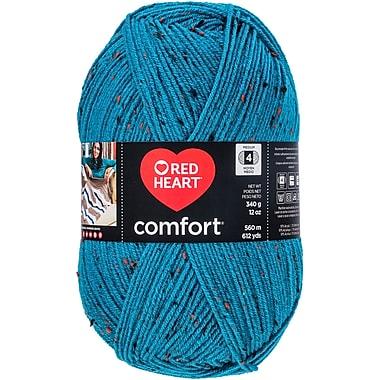 Coats Yarn Teal Fleck Red Heart Comfort Yarn (E707D-5104)