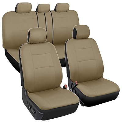 BDK OS-309-AB Rome All Beige Seat Cover
