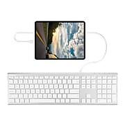 Macally Ultra Slim Keyboard, Aluminum (UCACEKEYA)