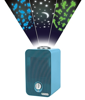 GermGuardian 4-in-1 Night-Night Air Purifier System with HEPA Filter, UV Sanitizer and Projector, Blue (AC4150BLCA)
