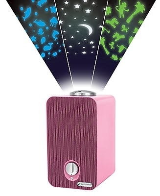 GermGuardian 4-in-1 Night-Night Air Purifier System with HEPA Filter, UV Sanitizer and Projector, Pink (AC4150PCA) 24226563